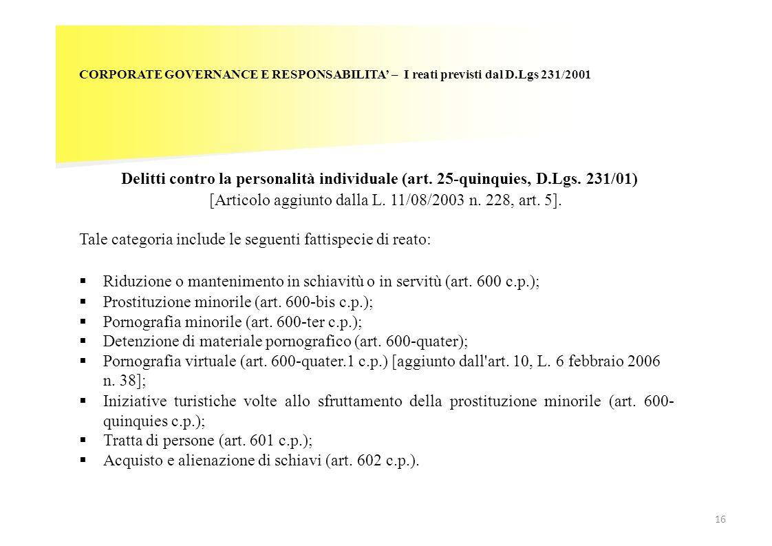 [Articolo aggiunto dalla L. 11/08/2003 n. 228, art. 5].